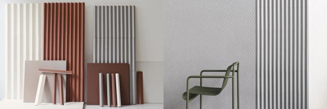 Mutina graafiline kollektsioon Rombini võimaldab miksida moodsaid värve ja mustreid ning luua põnevaid tekstuure. Saadaval Interstudio salongis.