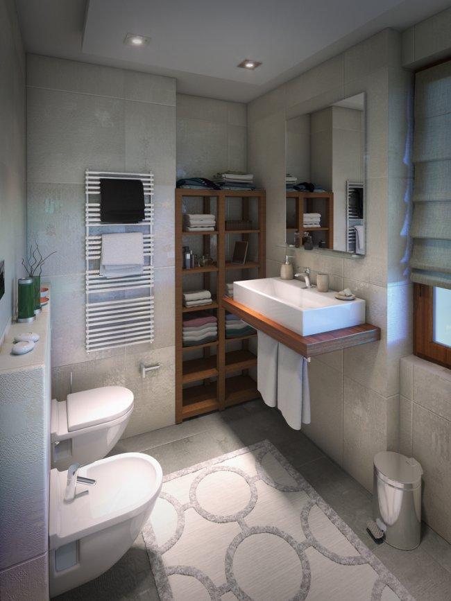 Katusealune vannituba