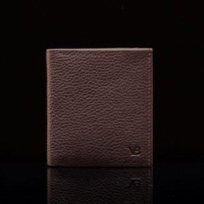 Nahast rahakott - münditaskuga kaardihoidja