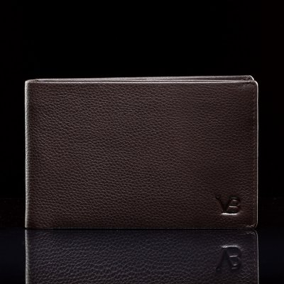 Nahast rahakott - portmonee passihoidja