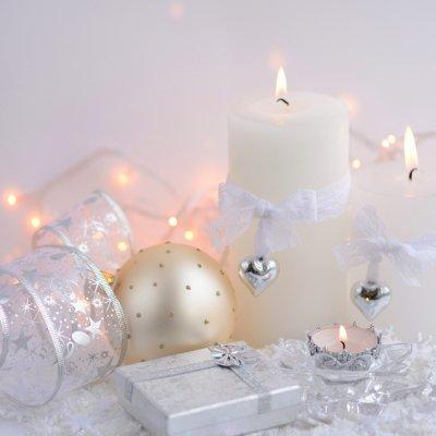 jõulud, küünlad